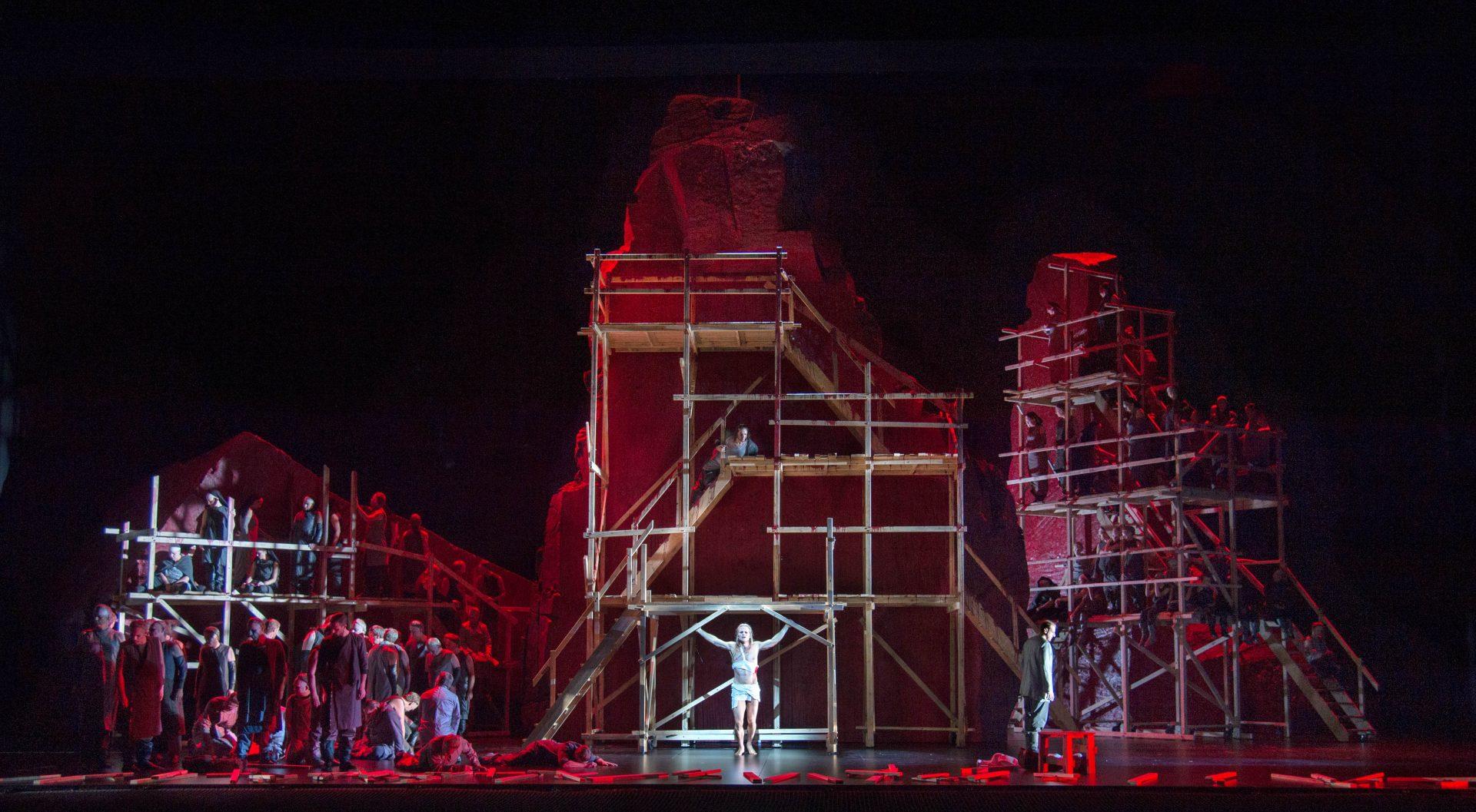 Ryan McKinny (Amfortas), Koor van de Nationale Opera