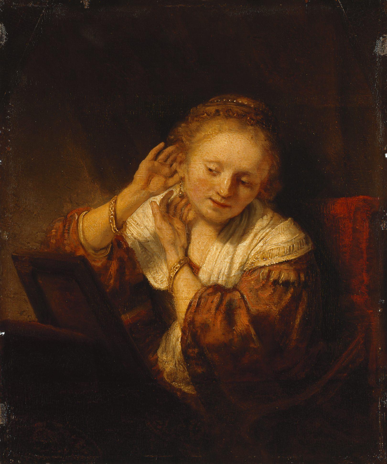 Rembrandt, Jonge vrouw met oorbellen, 1656, © State Hermitage Museum, St.-Petersburg