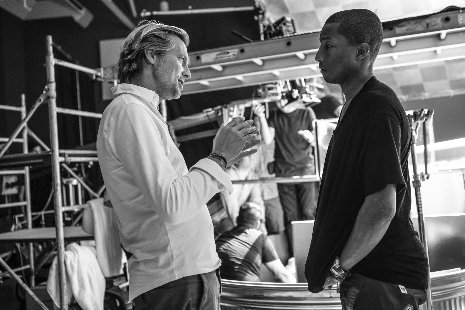 Pharrell WIlliams and Ludovic du Plessis
