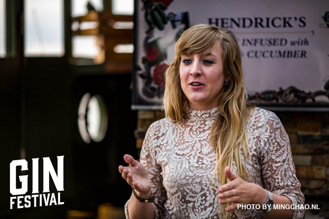 """Jennifer """"Ginnifer"""" de Jong - brand ambassador voor Hendrick's Gin en Komkommereconoom"""